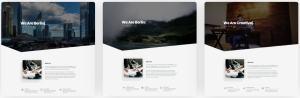 макеты сайтов HTML с возможностью разработки под любую платформу 26