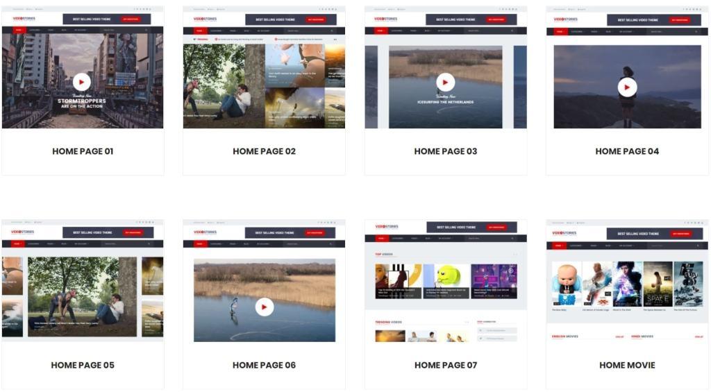 макеты сайтов HTML с возможностью разработки под любую платформу 38