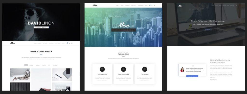 Топ 100 адаптивные HTML шаблоны для бизнеса, портфолио, блога и магазина 10