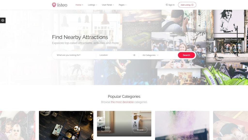 Топ 100 адаптивные HTML шаблоны для бизнеса, портфолио, блога и магазина 33