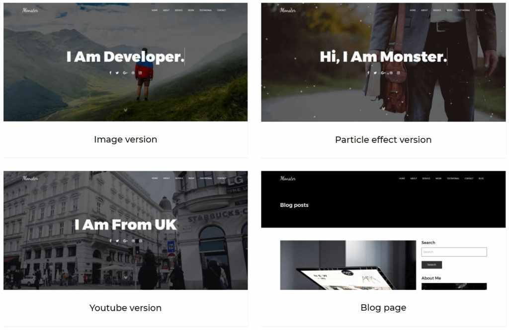 Топ 100 адаптивные HTML шаблоны для бизнеса, портфолио, блога и магазина 50