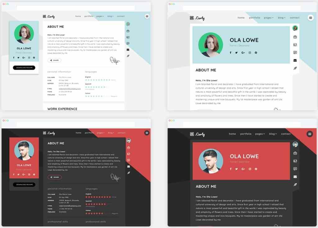 Топ 100 адаптивные HTML шаблоны для бизнеса, портфолио, блога и магазина 55