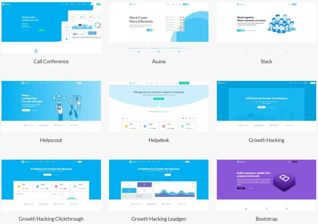 Топ 100 адаптивные HTML шаблоны для бизнеса, портфолио, блога и магазина 69