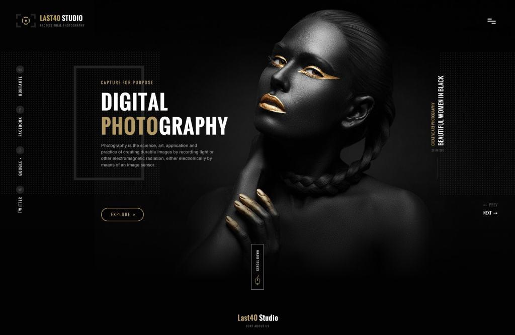 PSD макеты сайтов – 50 дизайнерских концепций для вашего бизнеса 29