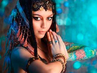 Orientalischer Tanz mit Noushafarin