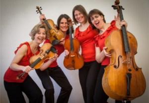 Musik zur Hochzeits vom Fortuna Streichquartett