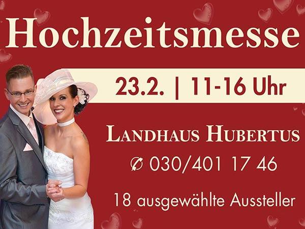 Hochzeitsmesse Berlin im Landhaus Hubertus