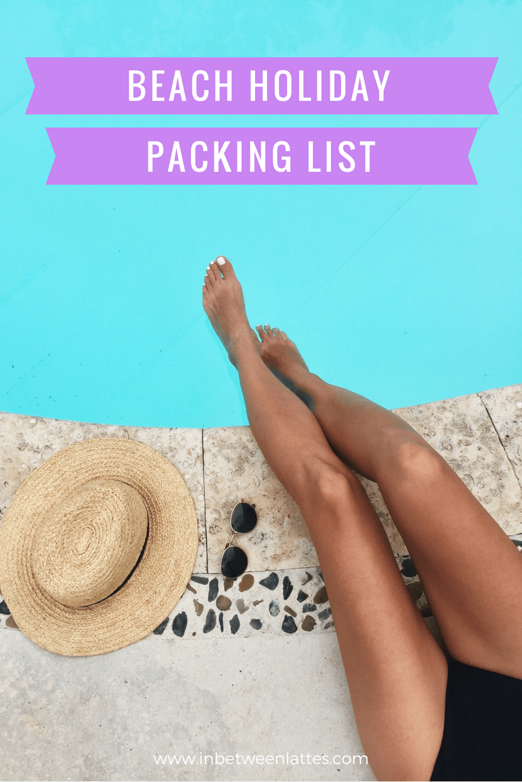 What to pack to a tropical destination (using one carry-on suitcase)