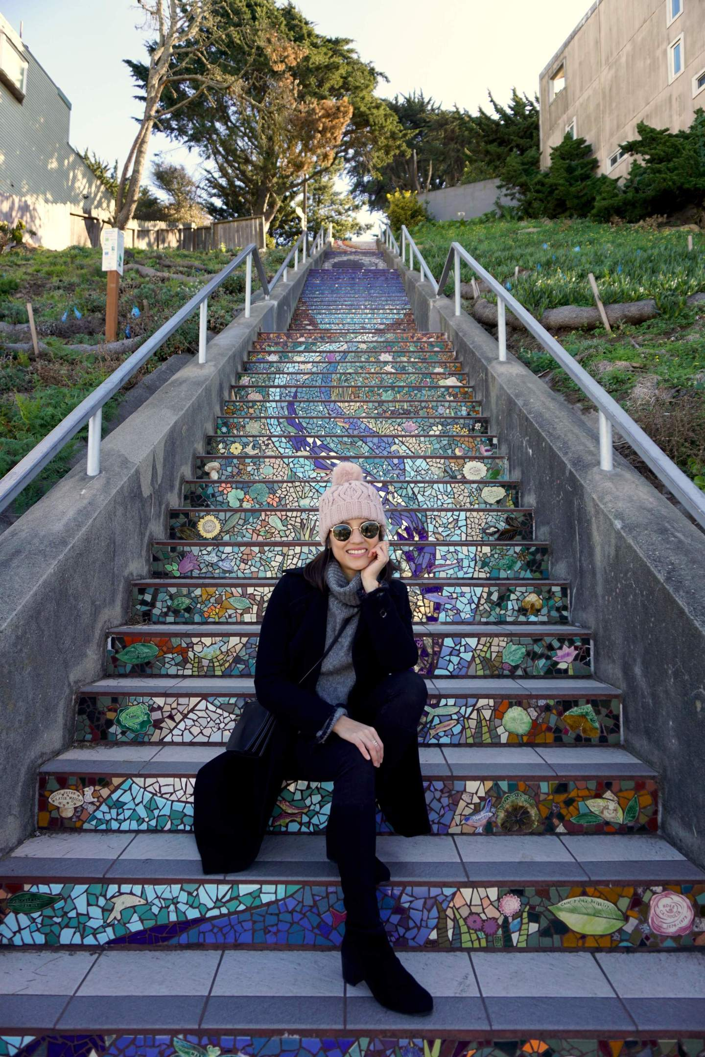 16th Avenue Tiled Steps - San Francisco - IN BETWEEN LATTES BLOG