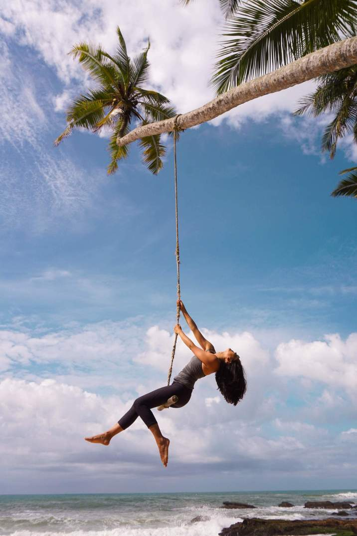 Tangalle Beach Swing Sri Lanka