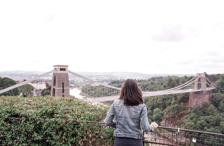 Clifton Suspension Bridge. The Perfect Bristol Day Trip Itinerary