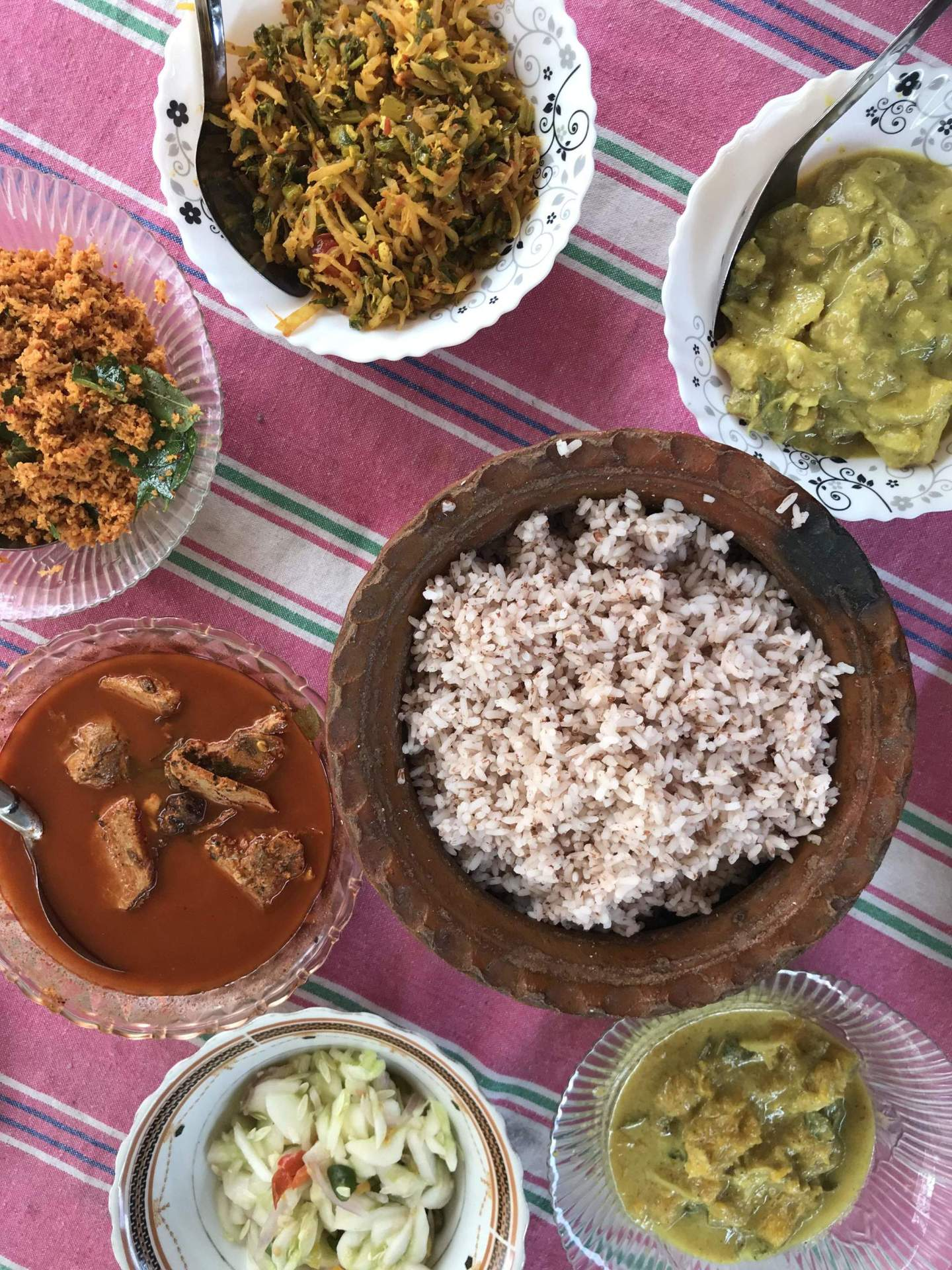 Food in Tangalle Sri Lanka