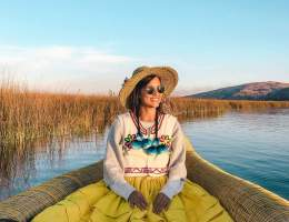 Uros-Islands Homestay-Review-Uros-Traditional-Costume