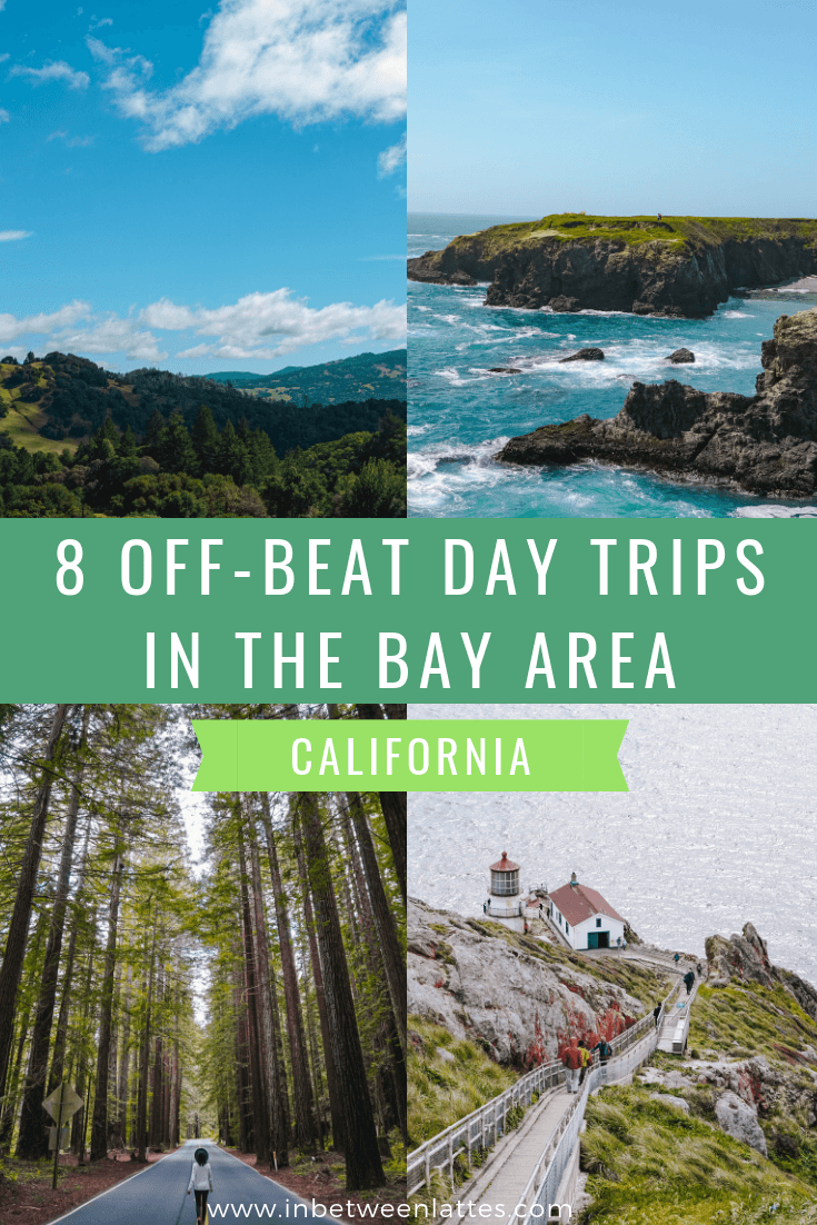 8 Off-the-Beaten-Path Day Trip Ideas in the Bay Area California