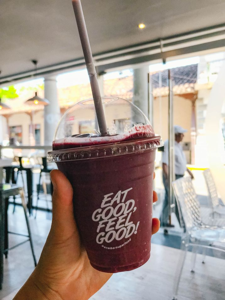 Acai Smoothie in Santa Cruz de la Sierra