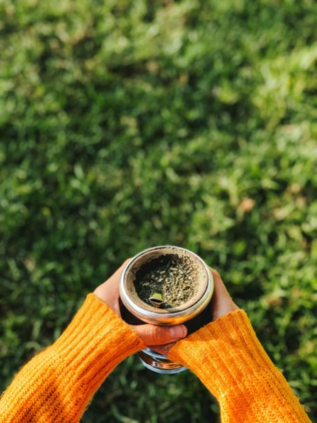 Drinking Mate in the Park in Buenos Aires