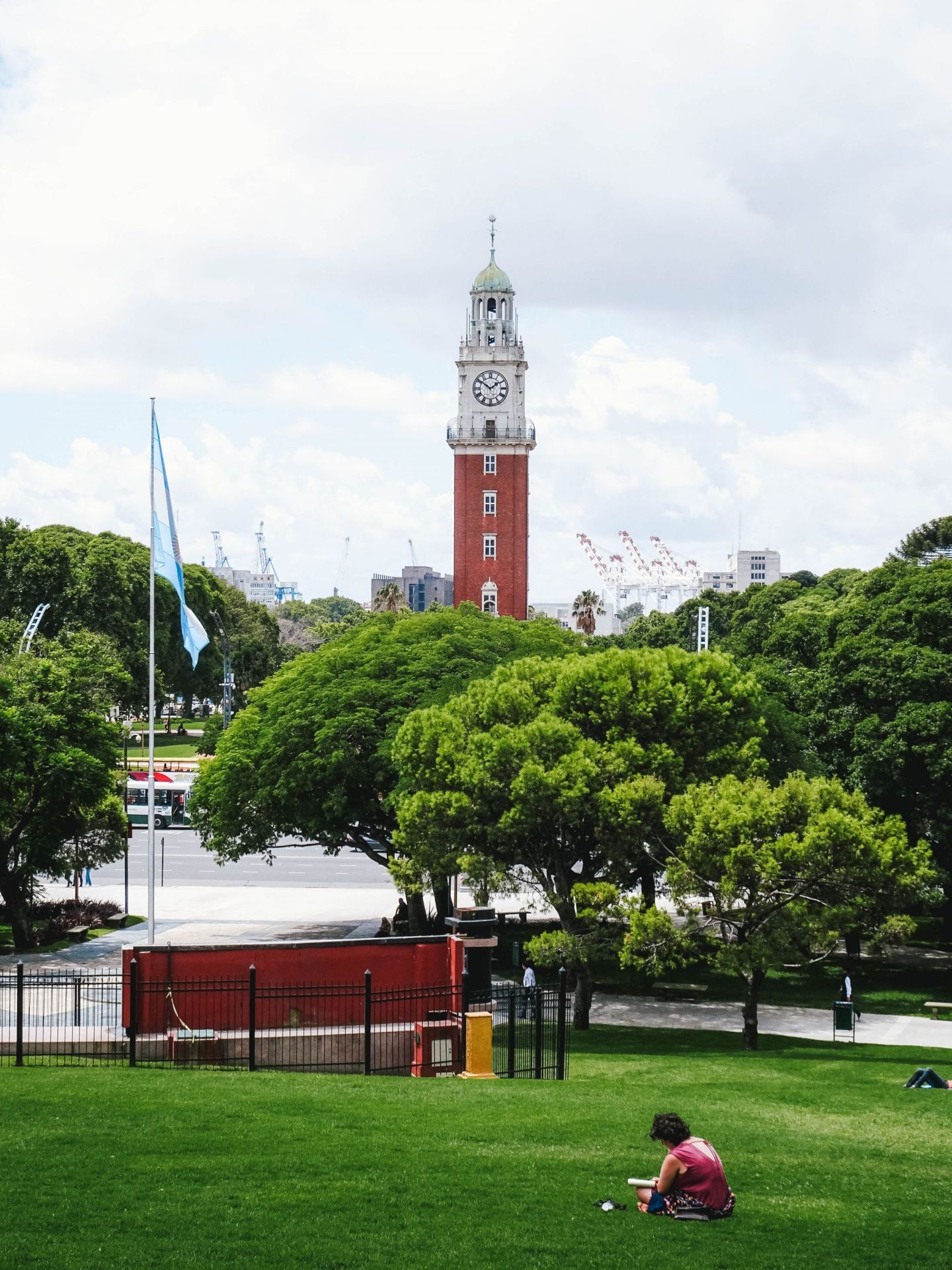 San Martin Square Buenos Aires