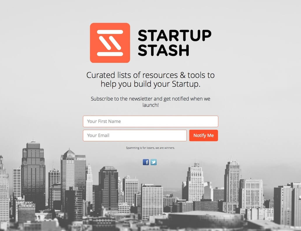 StartupStash - A curated directory of resources & tools to help you build your Startup