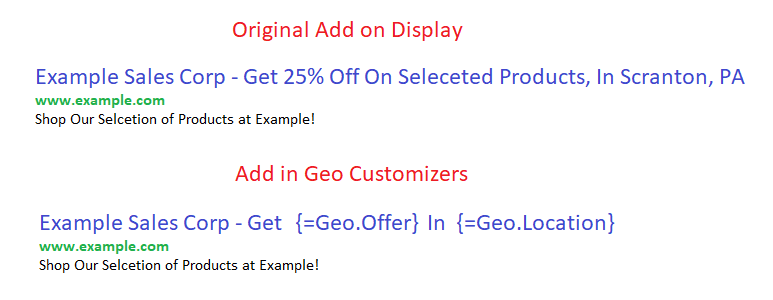 creating geo ads on Google Adwords