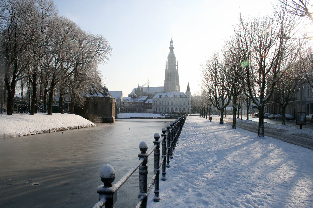 Breda in de winter: sprookjesachtig