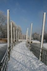 Zaartpark Breda in de sneeuw