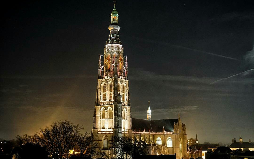 Fotoblog: verlichting Grote Kerk