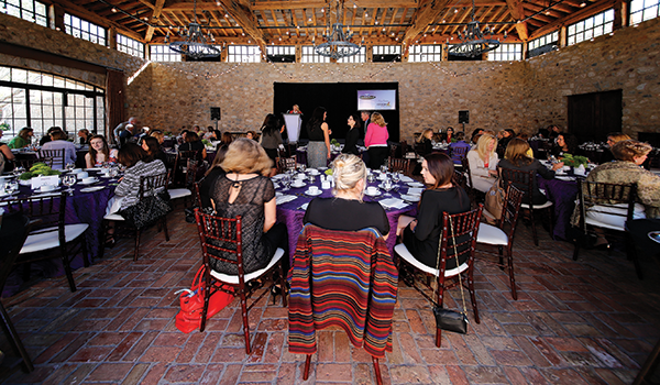 The 2015 Women in Leadership event took place Feb. 11  with a sold-out audience at the Silverleaf Club in Scottsdale. Photo: Sergio Dabdoub Photography