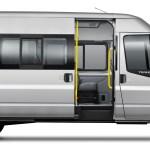 Transit Bus Implementacao De Plataforma Em Van Inbus Transport Onibus