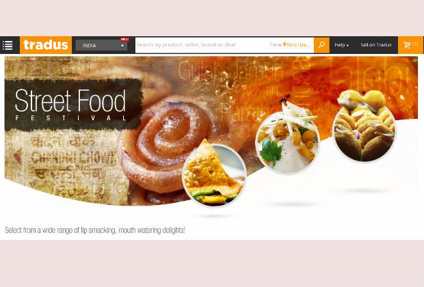 Tradus launches online street food festival