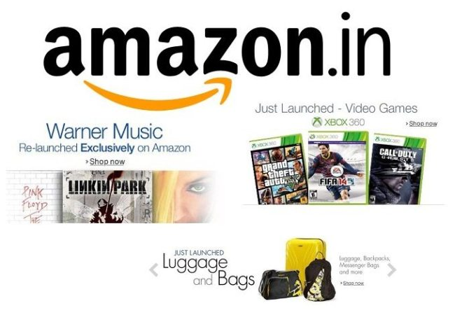 Video games, Music and luggage – Now on Amazon India Store