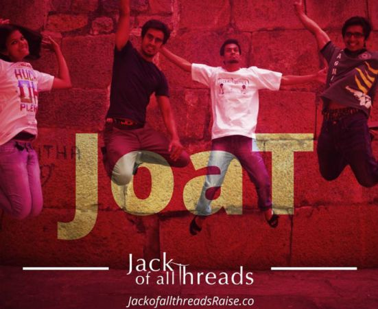 Jack Of All Threads: Crowdfunding Platform For Customised Tees