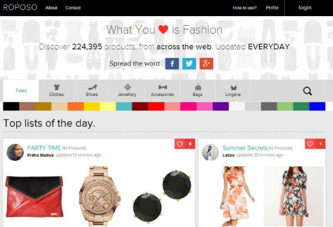 Startup Relevant e-solutions Raises Funding For Its Fashion Recommendation Platform Roposo