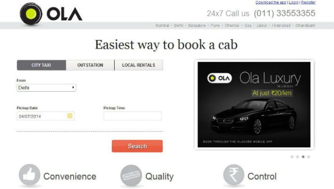 Olacabs Close To Raise Funding From Steadview Capital