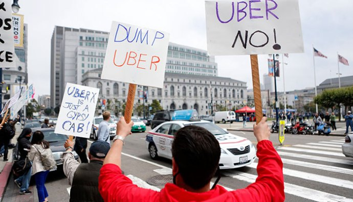 Over 20K Drivers Protests Against Uber In Bangalore