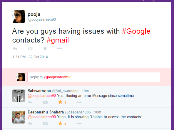 Gmail, Google Docs And Google+ Faces Service Outage - Inc42