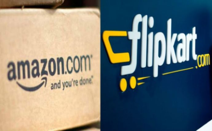Ecommerce Boom: Amazon & Flipkart To Invest INR 2,300 Cr. In India