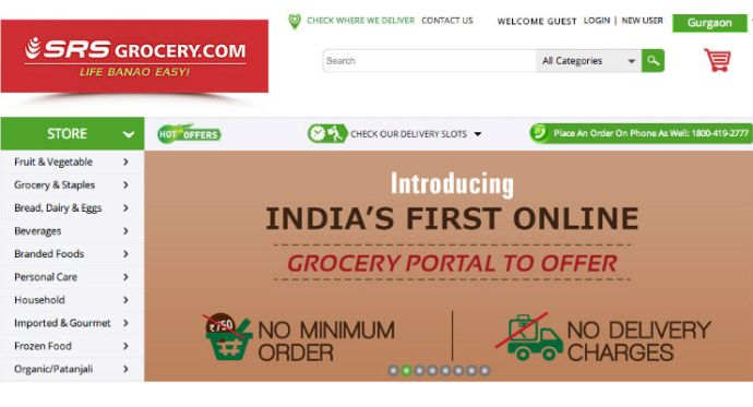 SRS Group Takes The First Step In Ecommerce With Grocery Store, Jewellery & Apparel to Follow