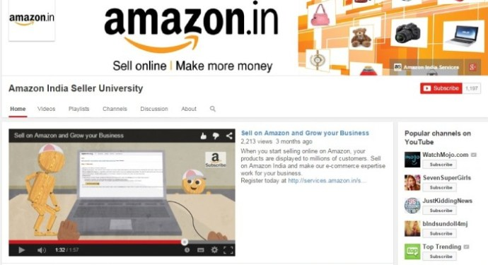 Amazon India's Seller University Initiative Appeals More than 700 Cities