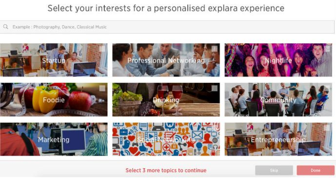 """Explara Goes Social With Topics, Profile & Recommendation Engine; Launches """"Event Discovery Solution"""""""