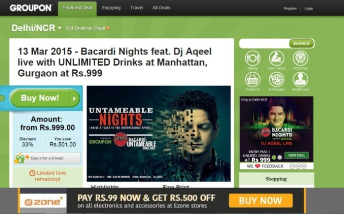 Groupon India Gets $20 Mn From Sequoia Capital: Reports