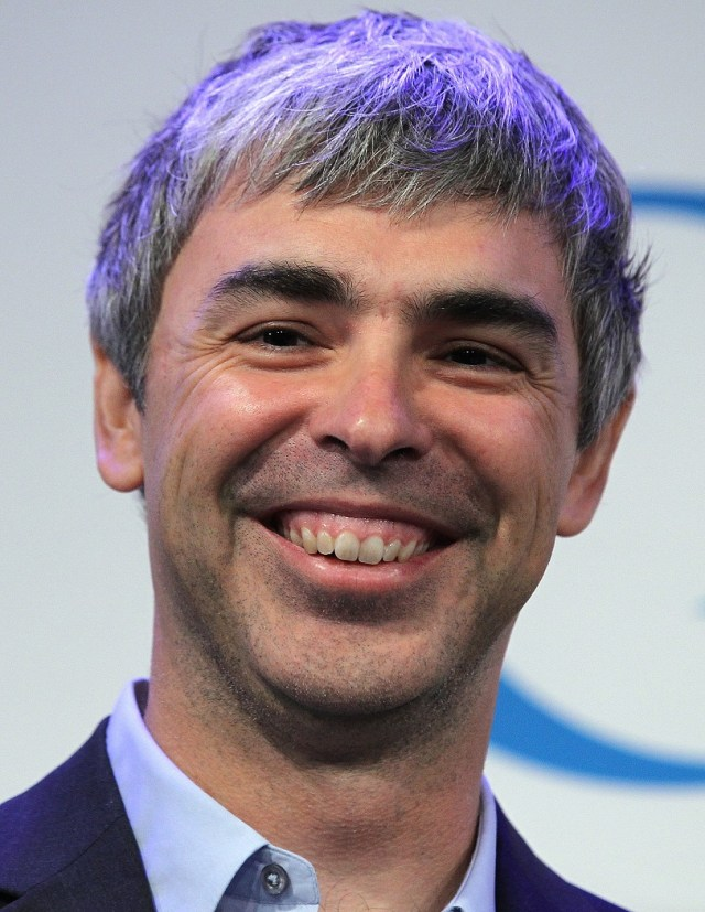 NEW YORK, NY - MAY 21:  Google co-founder and CEO Larry Page speaks during a news conference at the Google offices on May 21, 2012 in New York City. Google announced today that it will allocate 22,000 square feet of space in its New York headquarters to CornellNYC Tech while the university completes its new campus on Roosevelt Island.  (Photo by Justin Sullivan/Getty Images)
