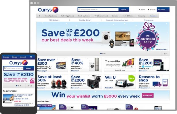 currys-homepage