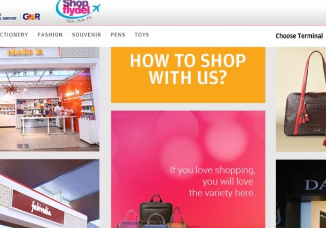 Delhi Airport Opens Door To Ecommerce With Shopflydel – India's First Airport E-shopping Platform