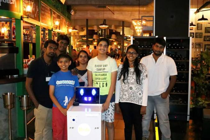 India's First Food-serving Robot 'BOB' Is Here