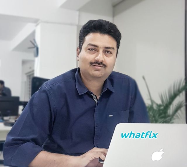 Whatfix co-founder Khadim Batti