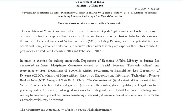 bitcoin-cyrptocurrency-india-government