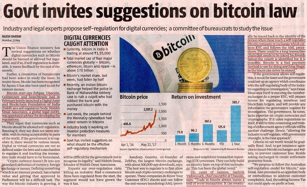 bitcoin-cryptocurrency-india-government