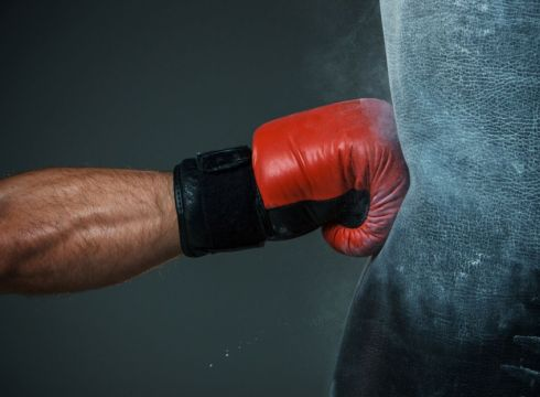 knocked down-boxing