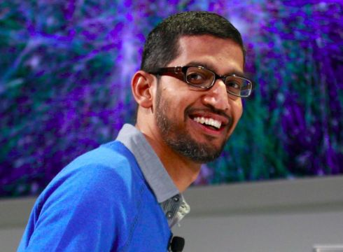 Google CEO Pichai PItches Global Internet Amid Data Protection In India