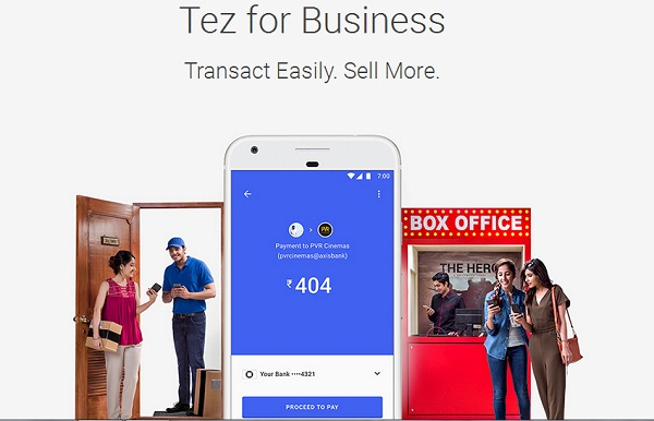 google-tez-mobile payments-upi